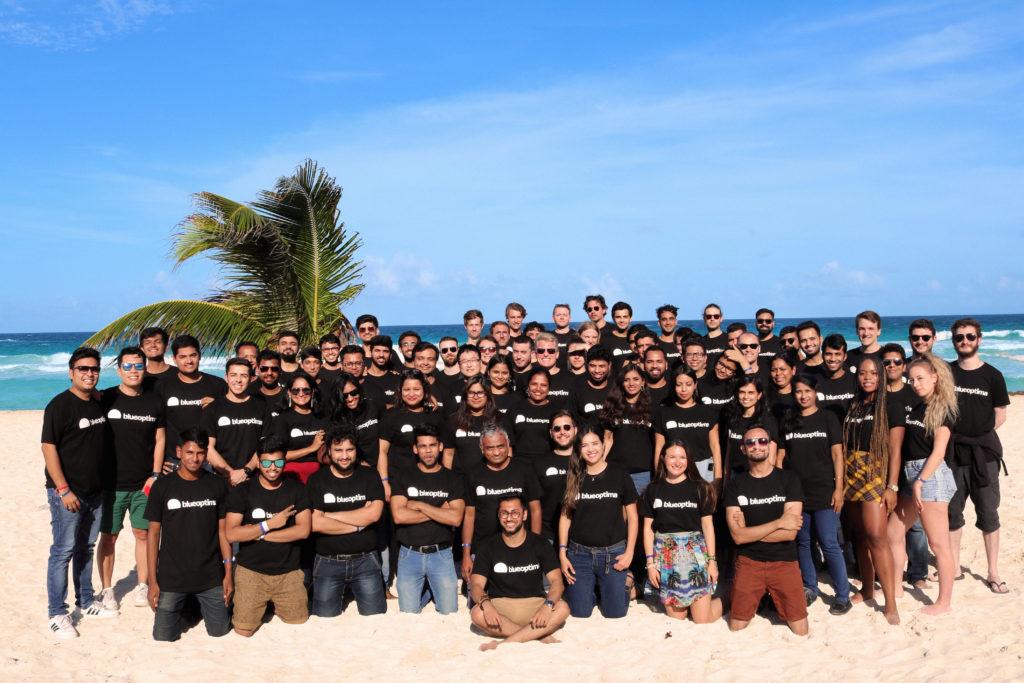 Blue Optima Team in Mexico